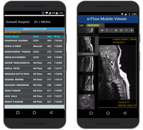 Dr.App mobile Application Screenshot